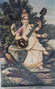 0103 Saraswati Seated Near River