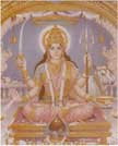 1504  Devi Santoshi Mata Seated